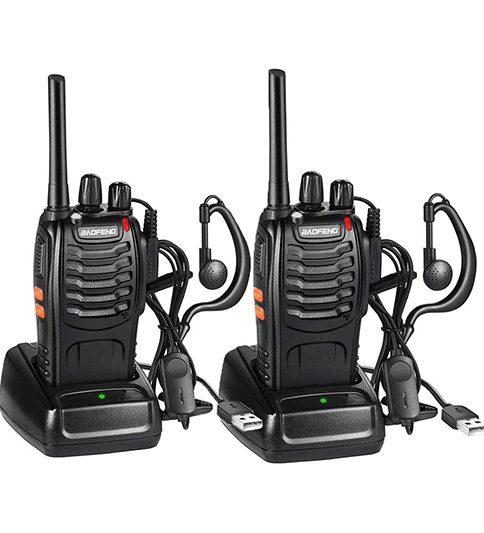 bf 888 walkies económicos para equipos de trabajo