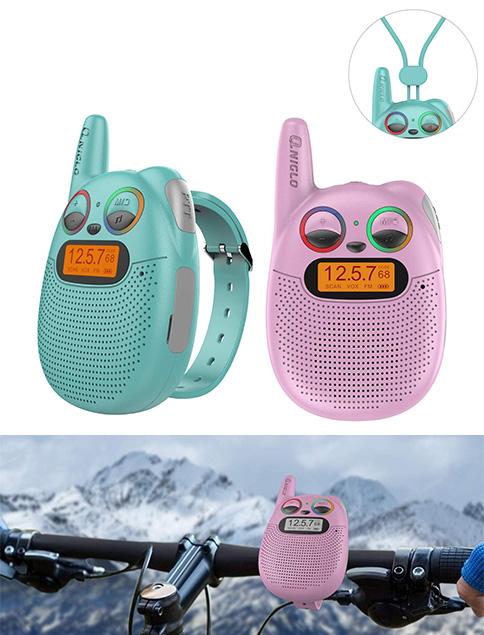 anglo q136 walkie talkie niños