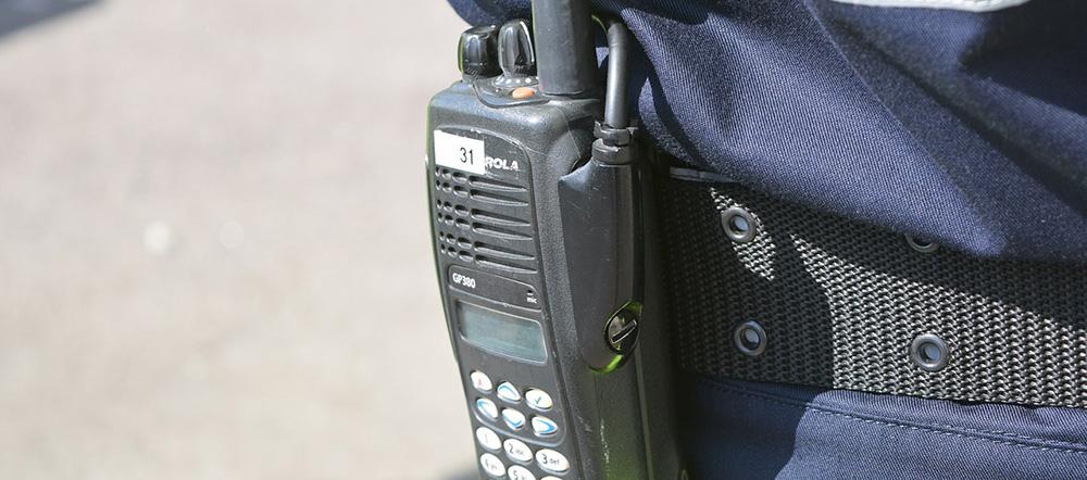 walkitalky utilizado para seguridad con licencia